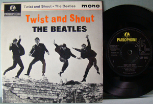 BEATLES - Twist and shout UK EP 1963