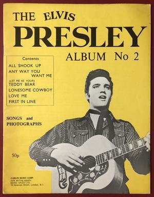 ELVIS PRESLEY - Album of Juke Box favorites No 2 Nothäfte 1956