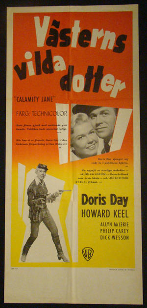 CALAMITY JANE (DORIS DAY, HOWARD KEEL)