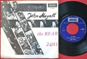 JOHN MAYALL - The bear Swe PS 1967