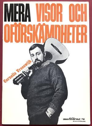 CORNELIS VREESWIJK - Mera visor & oförskämdheter Nothäfte 1964