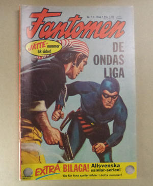 FANTOMEN - Nr 7 1966