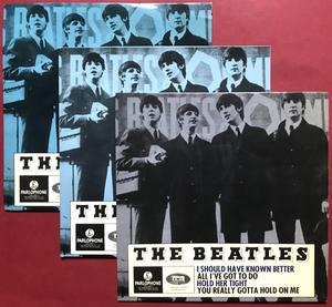 BEATLES - I should have known better + 3 EP Swe 1964 SUPER RARE GRÅ