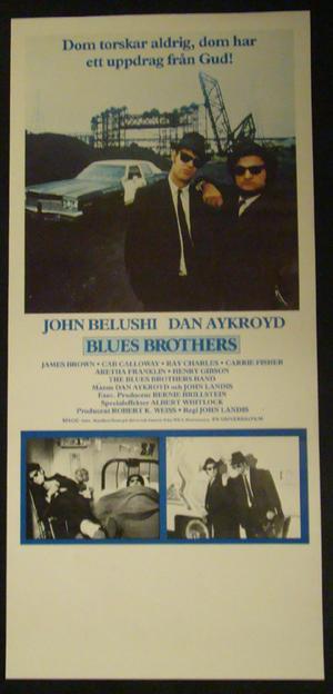 BLUES BROTHERS (JOHN BELUSHI, DAN AYKROYD)