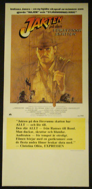 RAIDERS OF THE LOST ARK (HARRISON FORD)