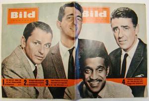 """Bildjournalen nr 13 1961 The """"Rat pack"""""""