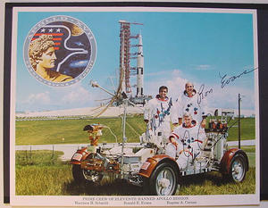Apollo 17, besättning - Autografer