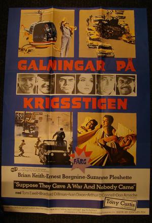 GALNINGARNA PÅ KRIGSSTIGEN (TONY CURTIS, TOM EWELL, BRADFORD DILLMAN)