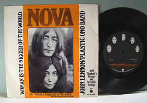 JOHN LENNON - Woman is the nigger of the world Swe 1972 PS