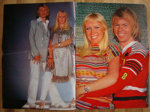 POSTER Mag - No 1½ 1978 No. 1½ 1978 6 color super posters with ABBA