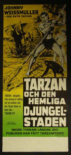 TARZAN & THE AMAZONS (Johnny Weissmuller)