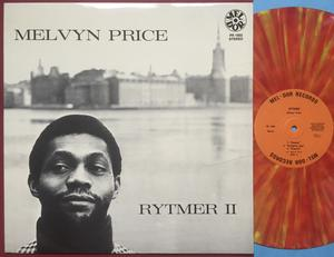 MELVYN PRICE - Rytmer II Swe-orig MULTI-COLOURED vinyl LP 1971