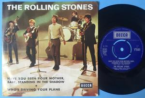 ROLLING STONES - Have you seen your mother.. UK/Swe PS 1966