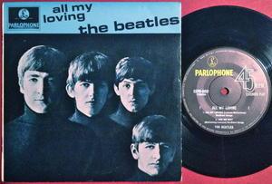 BEATLES - All my loving +3 Australien EP 1964