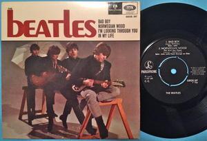 BEATLES - Bad boy + 3 EP Swe 1966