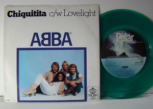 "ABBA - Chiquitita 7"" ULTRA RARE GREEN VINYL! 1979"