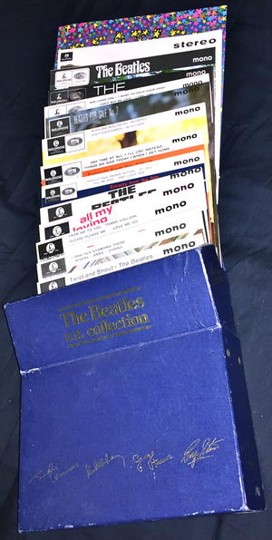 BEATLES - Collection 14 EP:s UK BOX SET 1978