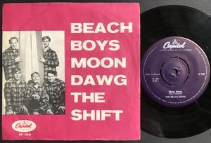 BEACH BOYS - Moon dawg Swe PS 1963