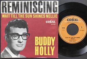 BUDDY HOLLY - Reminiscing Ger Coral PS 1962