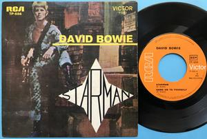 DAVID BOWIE - Starman +3 Portugal EP 1972