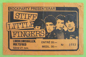 STIFF LITTLE FINGERS - Hultsfred 1981