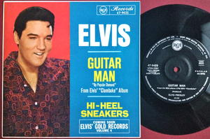 ELVIS PRESLEY - Guitar man Australia PS 1967