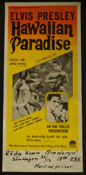 Elvis (Paradise Hawaiian style)