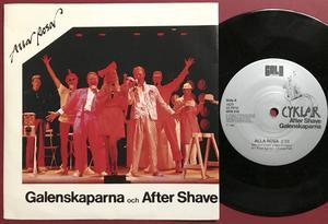 GALENSKAPARNA & AFTER SHAVE - En box full av Galenskaper Swe-orig 3LP BOX 1988