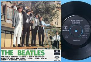 BEATLES - We can work it out + 3 EP Swe 1966