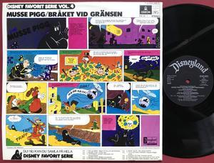 MUSSE PIGG - Bråket vid gränsen Swe-orig LP 1973