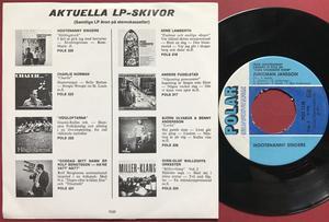 HOOTENANNY SINGERS - Björn Ulvaeus (ABBA) Hjärtats saga Swe PS 1971