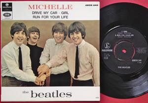 """BEATLES - Michelle + 3 EP """"SIB Tumba"""" Swe 1966"""