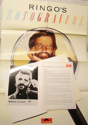 Ringo's ROTOGRAVURE - press kit 1976