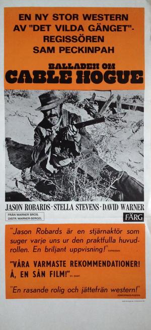 BALLADEN OM CABLE HOGUE (1970)