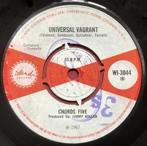 CHORDS FIVE - I´m only dreaming UK 45 1967