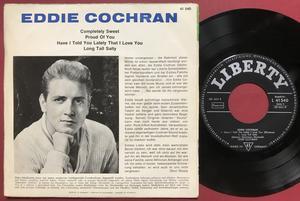 EDDIE COCHRAN - Completely sweet +3 Ger EP 1963