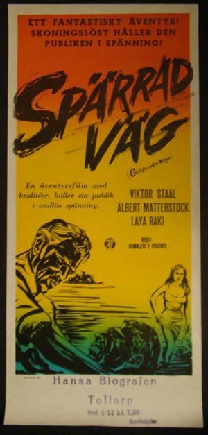 GESPERRTE WEGE (VIKTOR STAAL, ALBERT MATTERSTOCK)