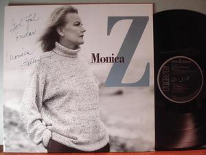 Monica Z Monica Zetterlund Signed/Autographed LP