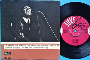 BEATLES - My Bonnie + 3 Rare JUKEBOX EP Swe 1964