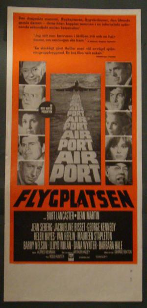 FLYGPLATSEN (BURT LANCASTER, JACQUELINE BISSET)