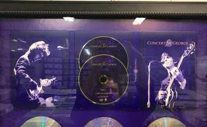 GEORGE HARRISON  - Concert for George 2xDVD PLATINASKIVA 2002