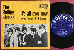 ROLLING STONES - It´s all over now Danish PS 1964