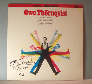 OWE THÖRNQVIST - Red 5 Röda serien Signerad LP