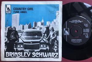BRINSLEY SCHWARZ - Country girl Swe PS 1970