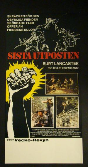 SISTA UTPOSTEN (BURT LANCASTER)
