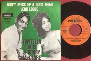 FONTELLA BASS & BOBBY McCLURE - Don´t mess up a good thing Holl PS 1965