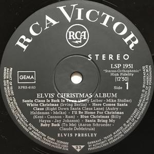 ELVIS PRESLEY - Elvis´ Christmas album Ger-orig LP 1964