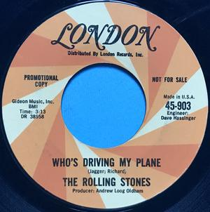 ROLLING STONES - Have you seen your mother baby,.. USA PROMO 45 1966
