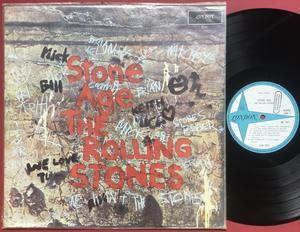 ROLLING STONES - Stone age Brasilien-orig MONO LP 1971