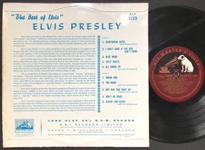 "ELVIS PRESLEY - Best of UK-orig 10"" LP 1957"